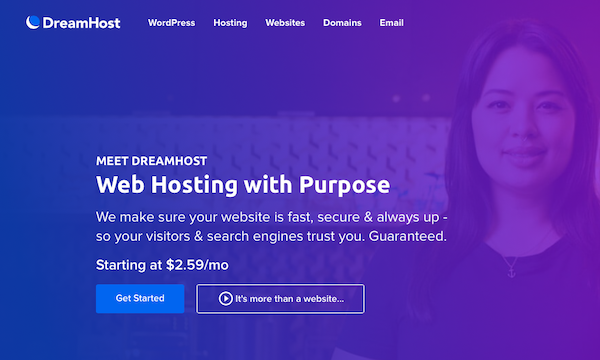 DreamHost - Blog Hosting - Call to Action